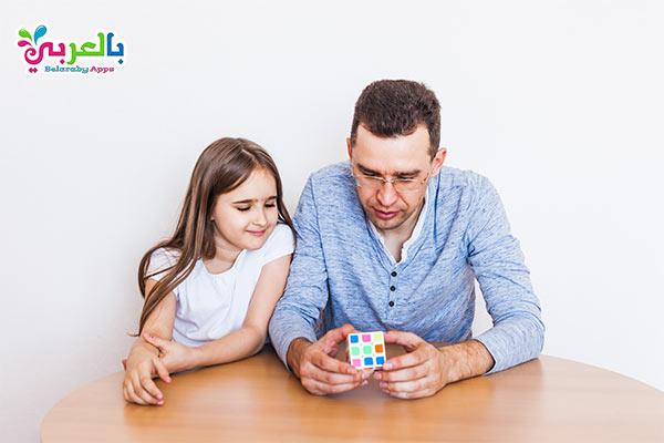 مكعب روبيك - أفكار للعب مع الأطفال في المنزل