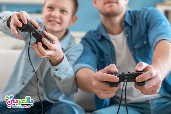 العاب فيديو جيم للاطفال - أفكار للعب وتسلية الأطفال في المنزل