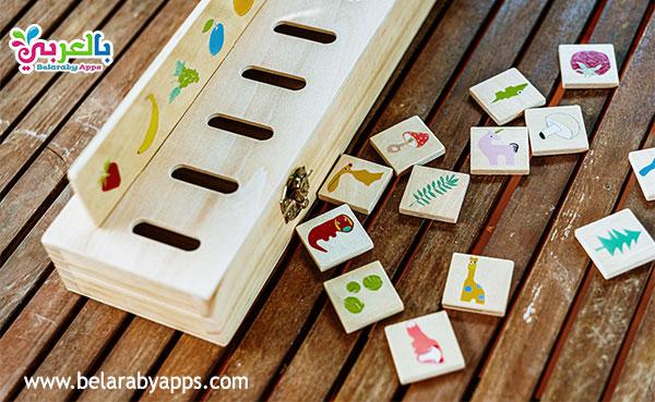 العاب خشبية - ألعاب ذهنية للاطفال