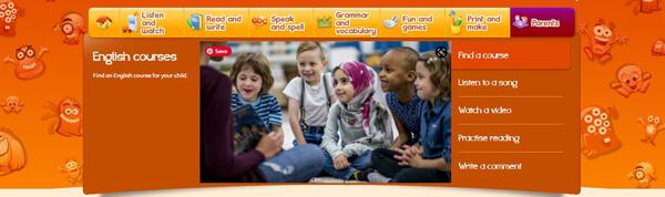موقع British Council - افضل مواقع تعليم اللغة الإنجليزية للاطفال