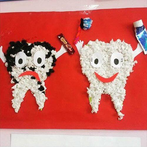 وسائل تعليمية عن نظافة الاسنان
