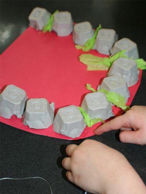 اعمال ورقية عن العناية بالاسنان للاطفال