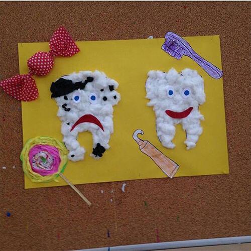 اعمال يديوية عن صحة الفم والأسنان