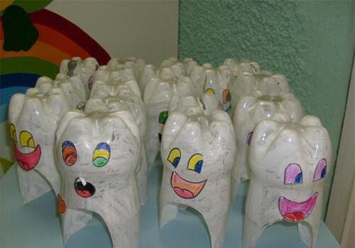 عملمجسم أسنانللاطفال
