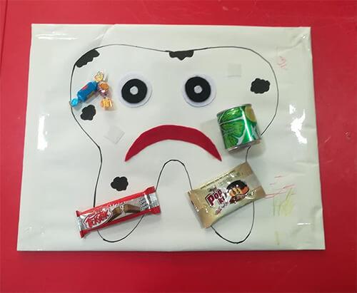 وسائل تعليمية عن تسوس الاسنان للاطفال