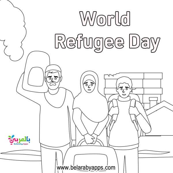 أوراق عمل عن يوم حقوق الإنسان للتلوين