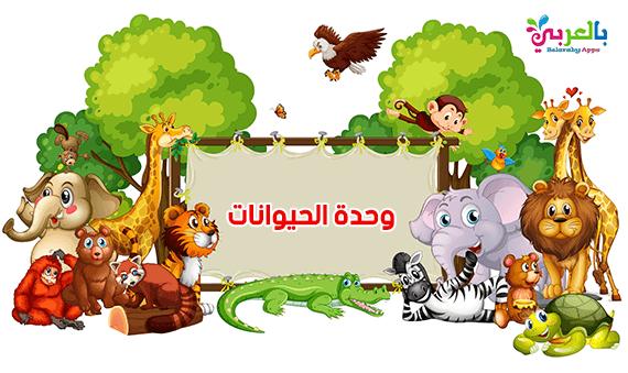 افكار وحدة الحيوانات رياض اطفال - حيواناتي المفضلة