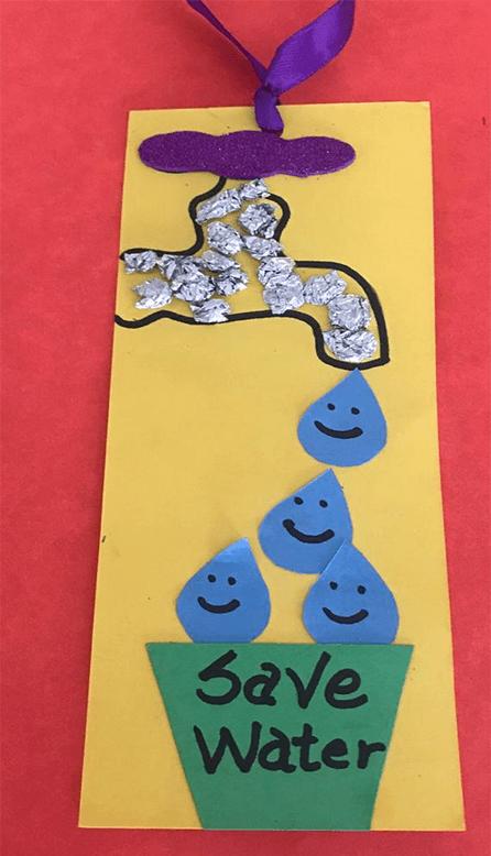 نشاط عن المحافظة على المياة للاطفال