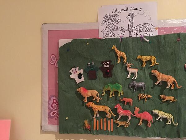 نشاط عن الحيوانات – وسائل تعليمية وحدة الحيوان رياض اطفال