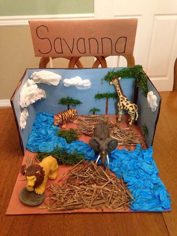 نشاط مدرسي مجسم لدرس الحيوانات - وسائل تعليمية عن الحيوانات