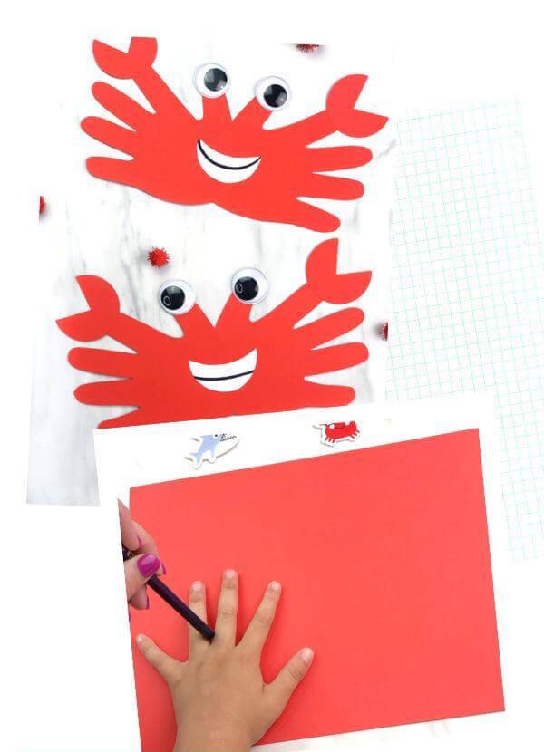 اعمال ورقية لوحدة الأيدي للأطفال