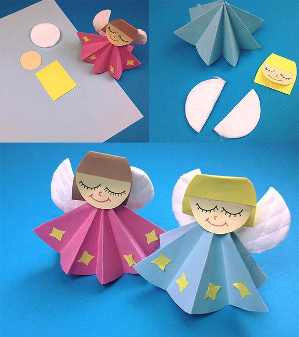 فكرة اعمال فنية للاطفال لوحدة الملبس