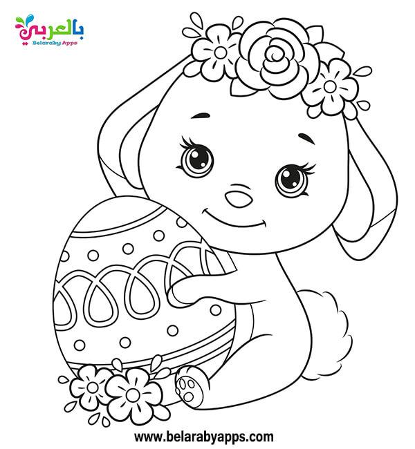 رسومات تلوين فصل الربيع للاطفال