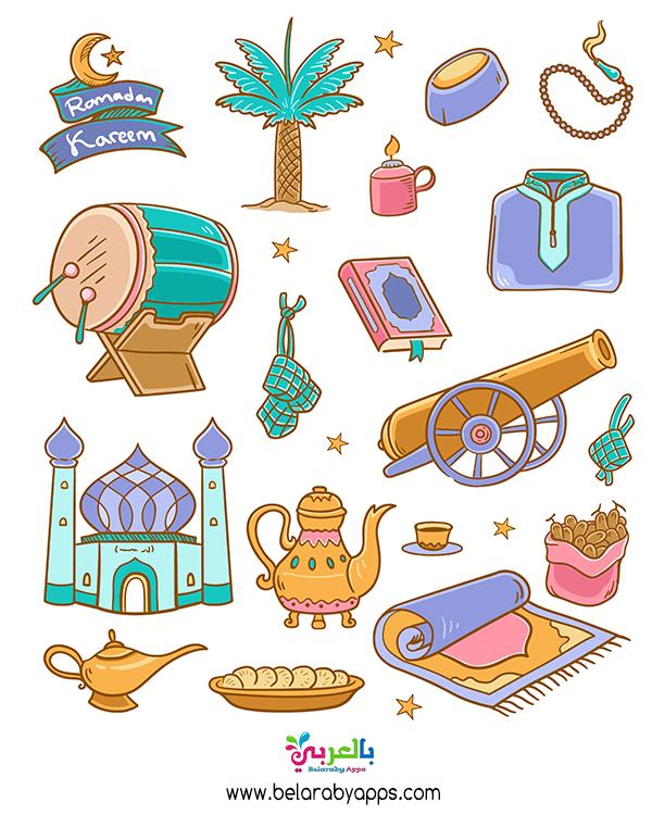 ملصقات صور رمضان