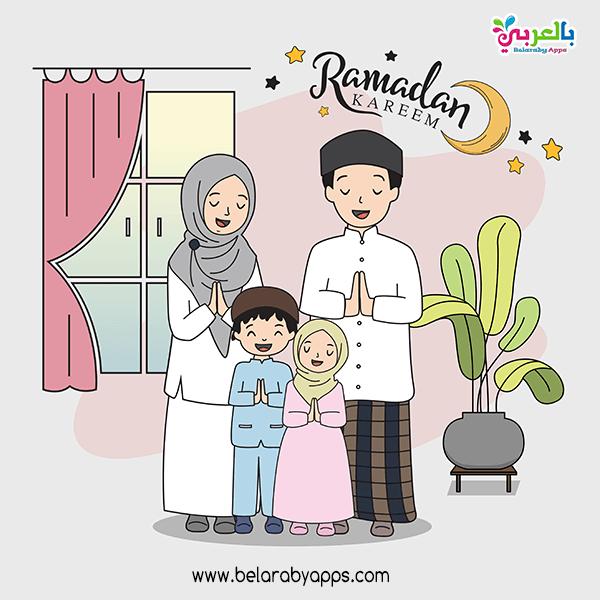 اجمل صور عن رمضان المبارك 2021 - ramadan greeting cards
