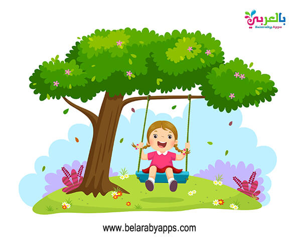 اجمل الصور عن فصل الربيع ملونة للاطفال
