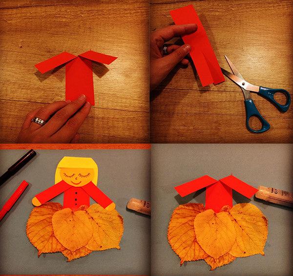 عمل فني صنع فستان .. وحدة الملبس للاطفال