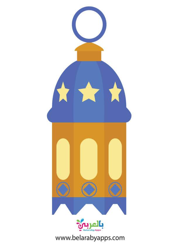 زينة رمضان .. رسومات فوانيس رمضان - Ramadan lanterns clipart