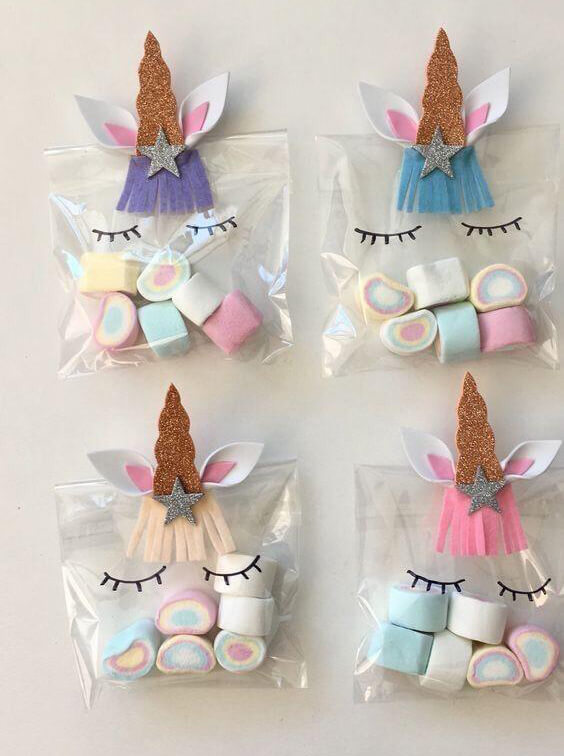 اكياس توزيعات العيد للاطفال - مع الحلوى والعيدية