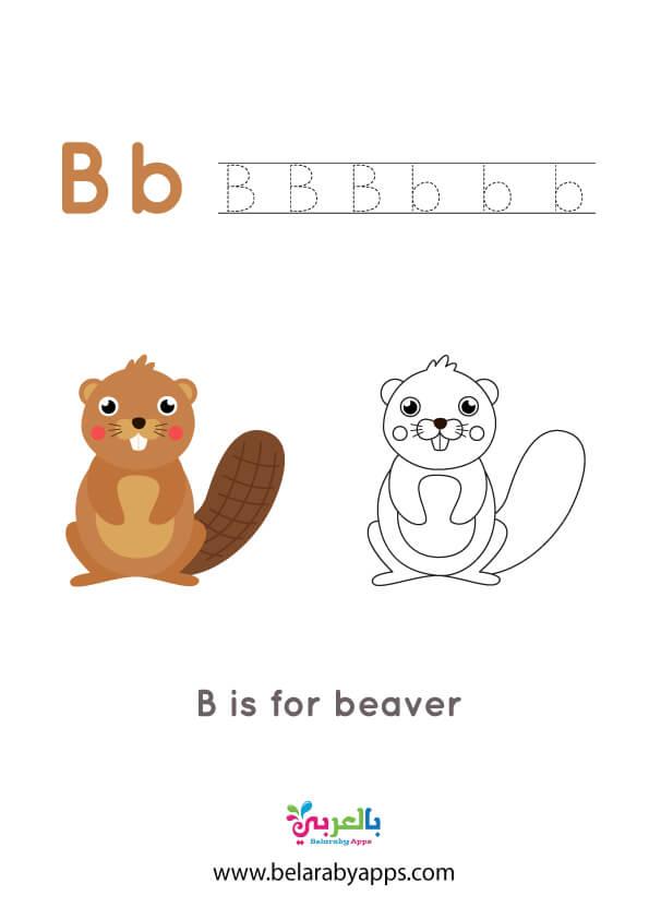 اوراق عمل الحروف الانجليزية للاطفال pdf