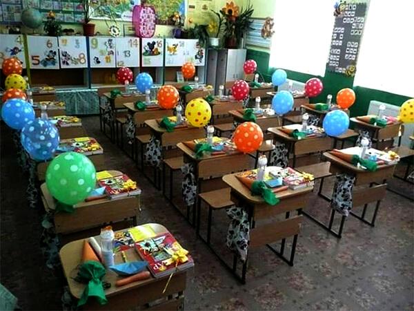 تزيين الفصل الدراسي لاستقبال رياض الاطفال